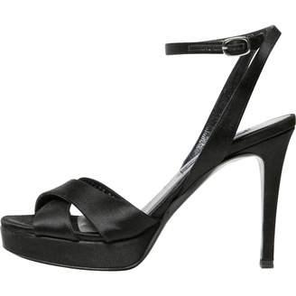 Ralph Lauren Black Cloth Sandals