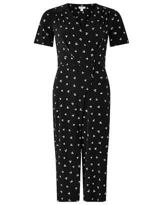 75d141c89d55 Monsoon Lindi Heart Print Jumpsuit