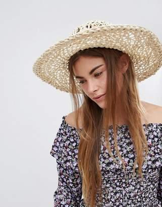 Glamorous Artisan Straw Hat