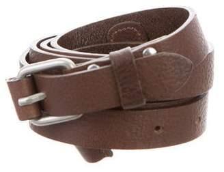 YMC Leather Buckle Belt