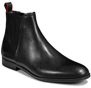 HUGO Leather Chelsea Boots
