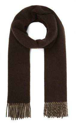 Johnstons of Elgin Reverse Check Cashmere Scarf