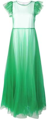 P.A.R.O.S.H. tulle evening dress