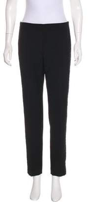 Tory Burch Tweed-Accent Tailored Pants