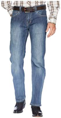 Rock and Roll Cowboy Pistol Bootcut Denim with Stitches in Dark Wash M1P6610 Men's Jeans
