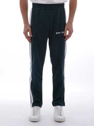 Palm Angels Green Track Pants