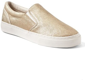 Suede slip-on sneakers $49.95 thestylecure.com