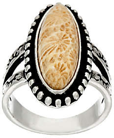American West Fossilized Sterling SilverRing