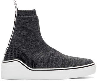 Givenchy Grey George V Sock Sneakers