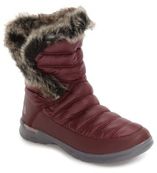 Women's The North Face Microbaffle Waterproof Thermoball Insulated Winter Boot $89.95 thestylecure.com