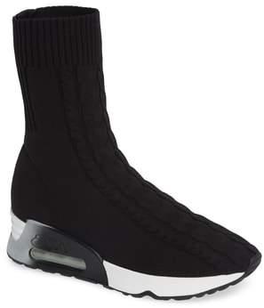 Ash Liv Knit Sneaker Bootie
