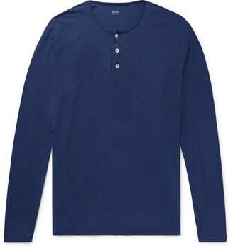 Hartford Cotton-Jersey Henley T-Shirt