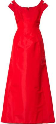 Zac Posen flared skirt gown