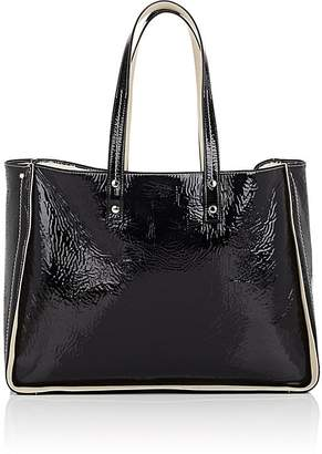 Fontana Milano 1915 Women's Tum Tum Patent Leather & Shearling Tote Bag