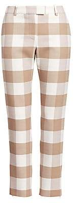 Altuzarra Women's Henri Wool Check Pants