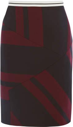 Karen Millen Striped Mini Skirt