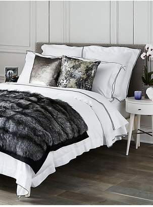 Saks Fifth Avenue Collection Butterfly Flange Duvet
