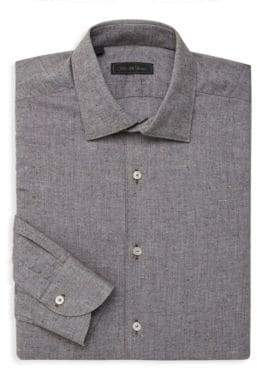 Saks Fifth Avenue COLLECTION Sport-Fit Tweed Button-Down Shirt