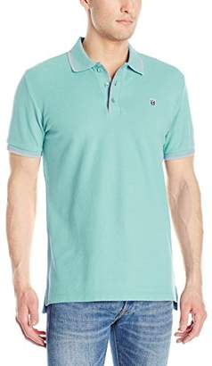 Cult of Individuality Men's Short Sleeve Pique Polo