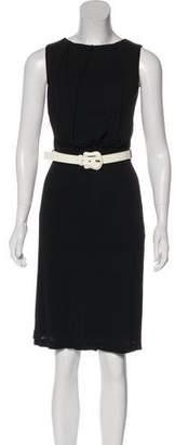 Fendi Pleated Knee-Length Dress
