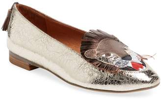 F-Troupe Women's Lion Patent Leather Loafer