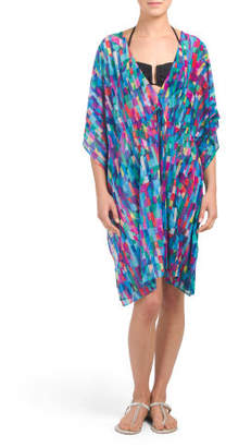 Short Sleeve Tunic Cover-up