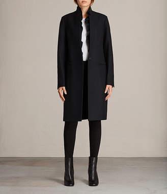AllSaints Mae Ruffle Coat