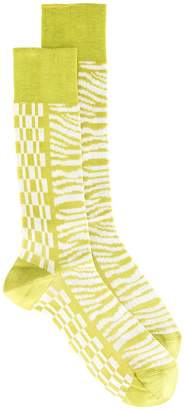 Haider Ackermann printed socks