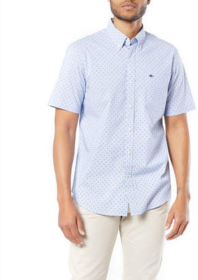 ce52bf3a Dockers Mens Short Sleeve Circles Button-Front Shirt