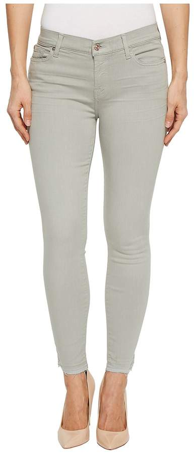 7 For All Mankind The Ankle Skinny w/ Released Hem in Agave Women's Jeans