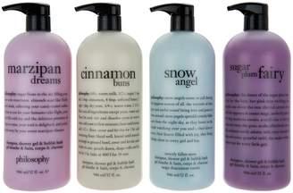 Philosophy philosophy super-size holiday 4-pc shower gel set