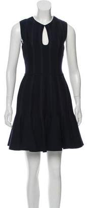 Giambattista Valli Sleeveless Wool A-Line Dress w/ Tags