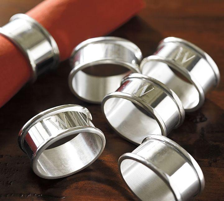 Maxfield Napkin Ring, Set of 6