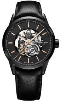 Raymond Weil Freelancer Automatic Skeleton Watch