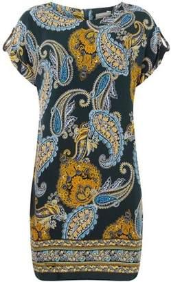 Dorothy Perkins Womens Petite Paisley Shift Dress