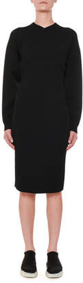 Stella McCartney Long-Sleeve Fitted Jersey Dress