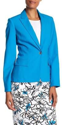 Modern American Designer Notch Collar Blazer