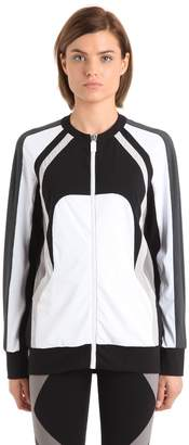 NO KA 'OI Nola Zip-Up Microfiber Track Jacket