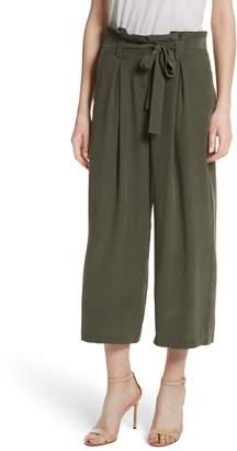 L'Agence Samira Paperbag Wide Leg Pants