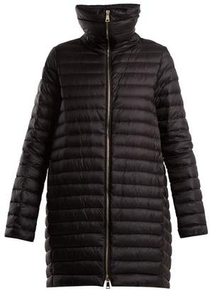 Moncler Citrinelle Funnel Collar Quilted Down Jacket - Womens - Black