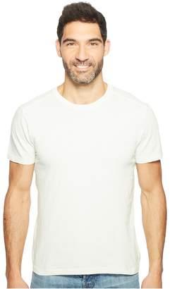 Agave Denim Swarts Short Sleeve Crew Slub Stripe Men's Clothing