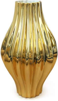 Jonathan Adler Metallic Giant Belly Vase
