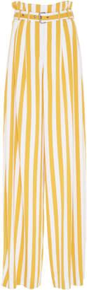 Maison Margiela Striped Paper Bag Waist Pant