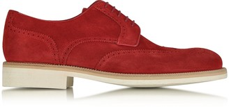 a. testoni A.Testoni Garofano Suede Derby Shoe