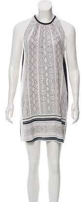 Ramy Brook Animal Print Sleeveless Dress