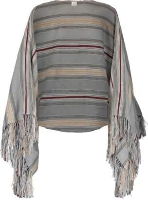 Brunello Cucinelli Linen Cotton Silk Lurex Shrug