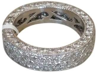 Hamilton Platinum and 3.75ct Diamond Eternity Band Ring Size 7