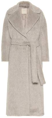 Max Mara S Guelfo alpaca and wool coat