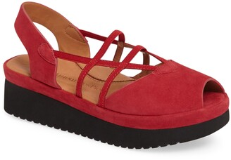L'Amour des Pieds Adelais Platform Wedge Sandal