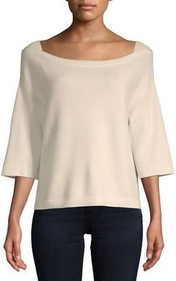 Valentino Women's Three-Quarter Cashmere Sweater
